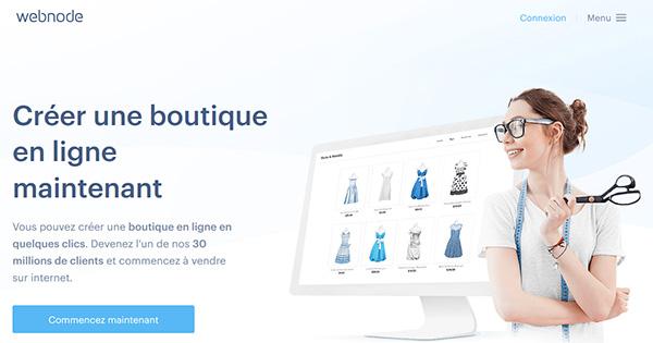 E-commerce Webnode