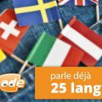 Langues Webnode