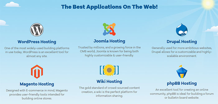 Applications HostGator