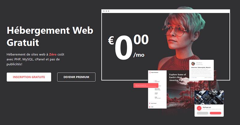 Hébergement web gratuit