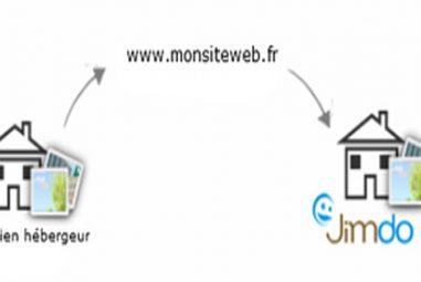 Migration d'un site vers ou à partir de chez Jimdo: Est-ce possible?